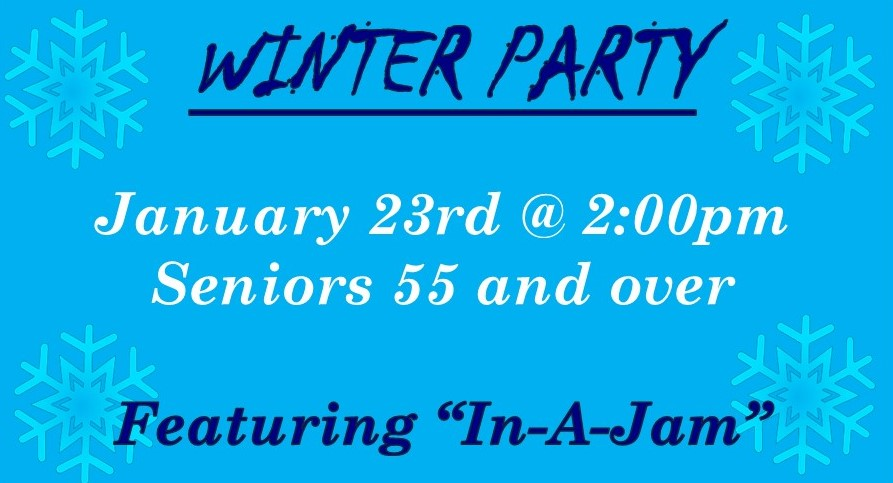 Winter Party Front