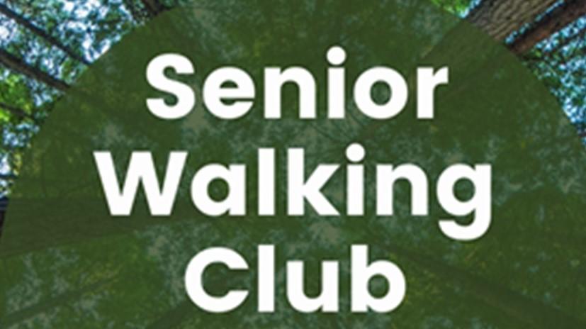 Senior Walking Club front